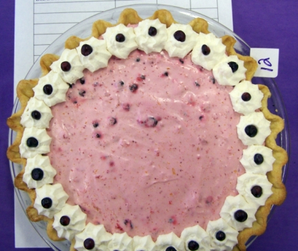 Huckleberry Chiffon Pie
