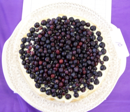 Huckleberry Cream Pie