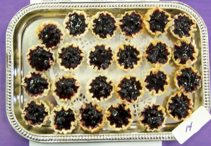 Huckleberry Tarts