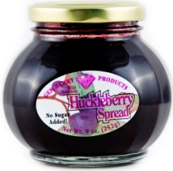Huckleberry spread/preserves