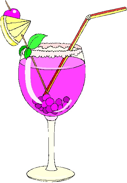 Huckleberries in a Glass