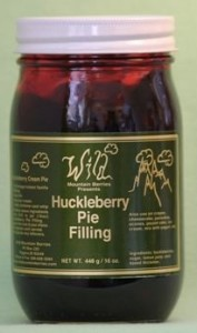 Huckleberry Cream Pie Filling