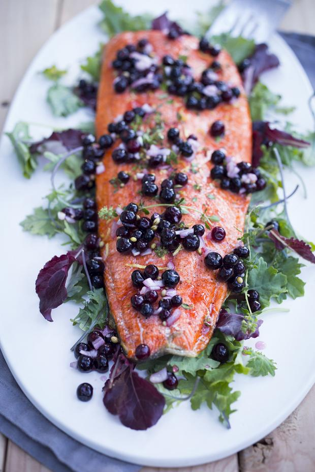 Huckleberry Salmon