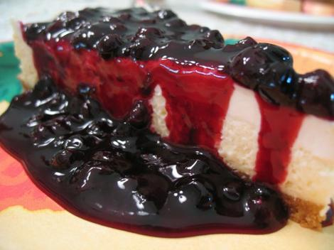 "Food Porn: ""This is how we do cheesecake here in Idaho,"" posts Idaho Dad. ""Smothered with huckleberries, and really just looking too good to eat, although we get around to it after much admiring and photo-taking."" Mmm-mmm good."