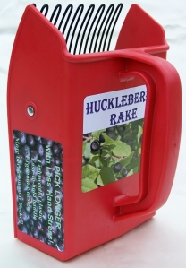 huckleberry picking rake