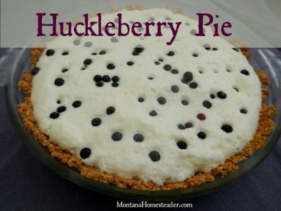 Huckleberry Pie from Montana