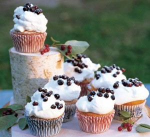 Huckleberry Cupcakes