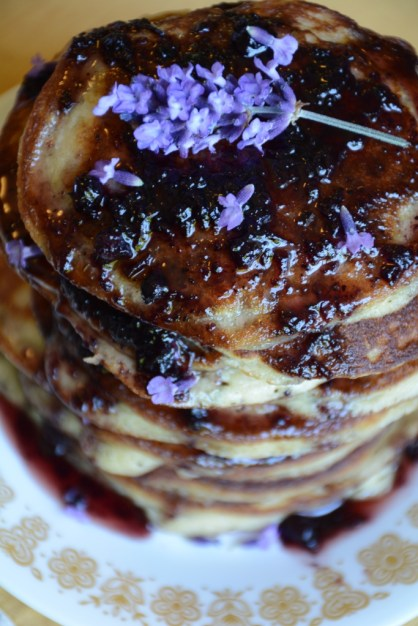 Huckleberry Paleo Pancakes