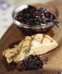 Huckleberry Shallot Relish