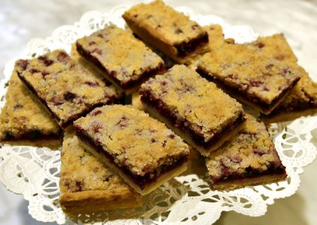 Huckleberry Bars