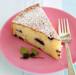 Huckleberry Tea Cake