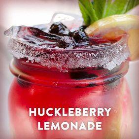 Huckleberry Vodka Lemonade
