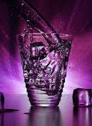 Huckleberry Gin Fizz Cocktail